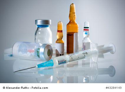 Homöopathie und injektionsflaschen Naturheilpraxis Hensel